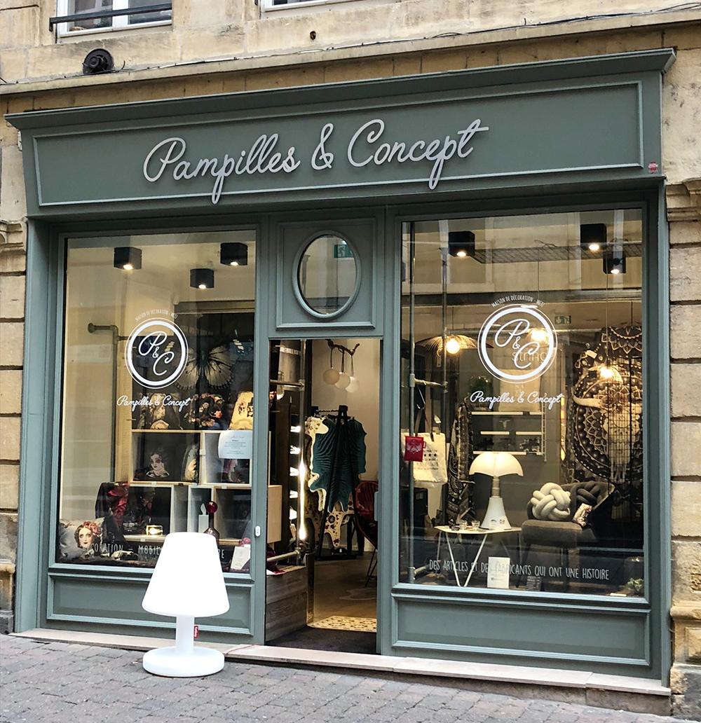 Boutique Pampilles et Concept Metz